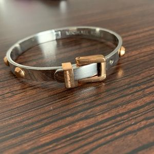 Michael Kors Jewelry - Michael kors rose gold and silver bracelet